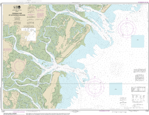 NOAA Nautical Chart 11511: Ossabaw and St. Catherines Sounds
