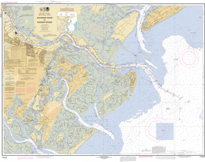 NOAA Nautical Chart 11512: Savannah River and Wassaw Sound