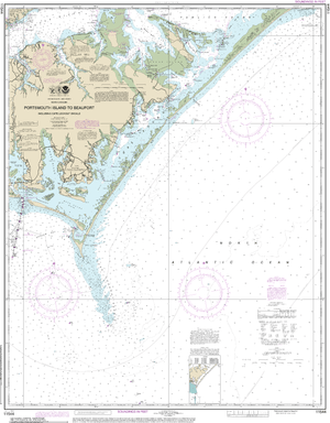 NOAA Nautical Chart 11544: Portsmouth Island to Beaufort, Including Cape Lookout Shoals
