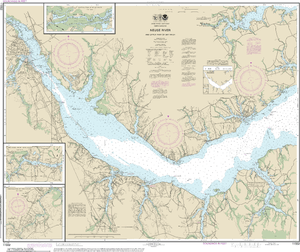 NOAA Nautical Chart 11552: Neuse River and Upper Part of Bay River