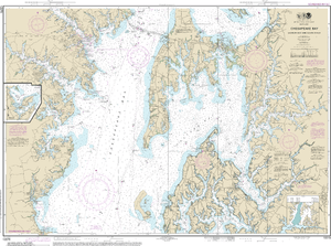 NOAA Nautical Chart 12270: Chesapeake Bay Eastern Bay and South River; Selby Bay