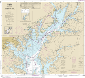 NOAA Nautical Chart 12273: Chesapeake Bay Sandy Point to Susquehanna River