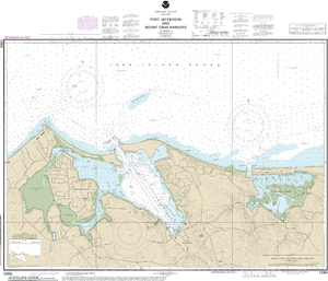 NOAA Nautical Chart 12362: Port Jefferson and Mount Sinai Harbors