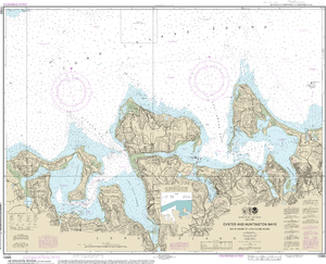 NOAA Nautical Chart 12365: South Shore of Long Island Sound Oyster and Huntington Bays