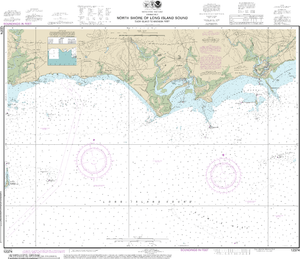 NOAA Nautical Chart 12374: North Shore of Long Island Sound Duck Island to Madison Reef