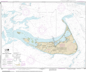 NOAA Nautical Chart 13241: Nantucket Island