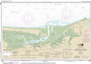NOAA Nautical Chart 13251: Barnstable Harbor