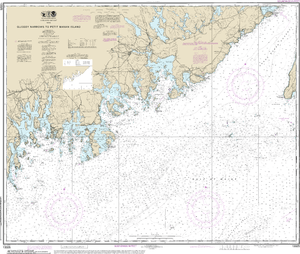 NOAA Nautical Chart 13325: Quoddy Narrows to Petit Manan lsland