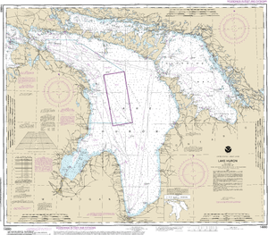 NOAA Nautical Chart 14860: Lake Huron