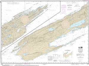 NOAA Nautical Chart 14976: Isle Royale