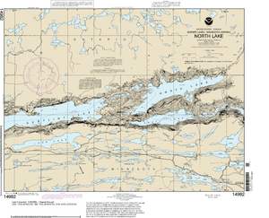 NOAA Nautical Chart 14982: North Lake