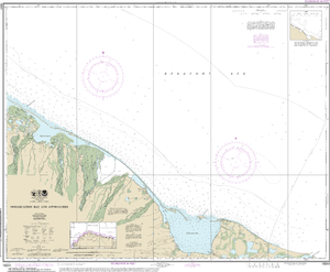 NOAA Nautical Chart 16041: Demarcation Bay and approaches