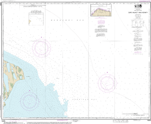 NOAA Nautical Chart 16065: Cape Halkett and vicinity