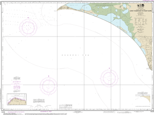 NOAA Nautical Chart 16124: Cape Thompson to Point Hope