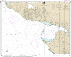 NOAA Nautical Chart 16204: Port Clarence and approaches