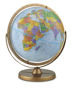 Pioneer 12 Inch Desktop World Globe By Replogle Globes