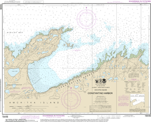 NOAA Nautical Chart 16446: Constantine Harbor, Amchitka Island