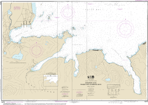 NOAA Nautical Chart 16476: Sweeper Cove, Finger and Scabbard Bays