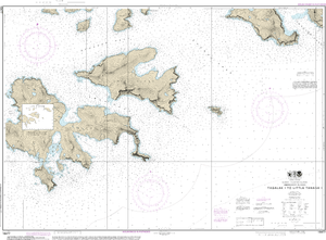 NOAA Nautical Chart 16477: Tagalak Island to Little Tanaga l.
