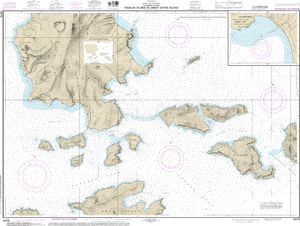 NOAA Nautical Chart 16478: Tagalak Island to Great Sitkin Island;Sand Bay-Northeast Cove