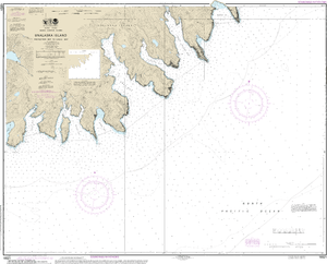 NOAA Nautical Chart 16521: Unalaska Island Protection Bay to Eagle Bay