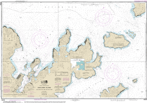 NOAA Nautical Chart 16528: Unalaska Bay and Akutan Pass