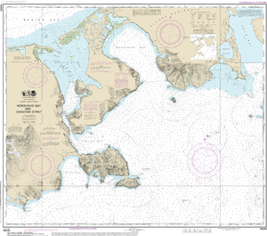 NOAA Nautical Chart 16535: Morzhovoi Bay and Isanotski Strait