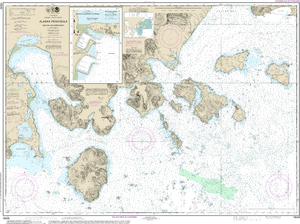NOAA Nautical Chart 16549: Cold Bay and approaches, Alaska Pen.;King Cove Harbor