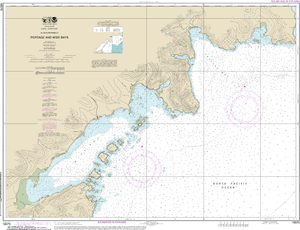 NOAA Nautical Chart 16570: Portage and Wide Bays, Alaska Pen.