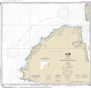 NOAA Nautical Chart 16598: Cape Ikolik to Cape Kuliuk