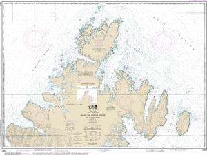 NOAA Nautical Chart 16604: Shuyak and Afagnak Islands and adjacent waters
