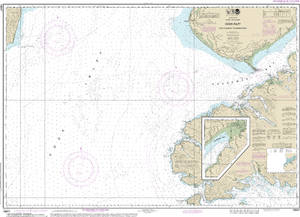 NOAA Nautical Chart 16647: Cook Inlet-Cape Elizabeth to Anchor Point