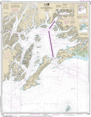 NOAA Nautical Chart 16700: Prince William Sound