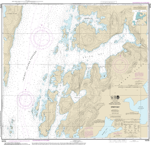 NOAA Nautical Chart 16704: Drier Bay, Prince William Sound