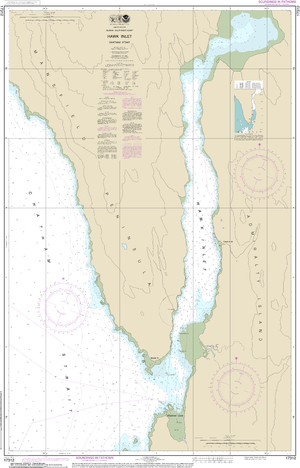 NOAA Nautical Chart 17312: Hawk Inlet, Chatham Strait