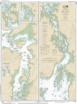NOAA Nautical Chart 17372: Keku Strait-Monte Carlo Island to Entrance Island;The Summit;Devils Elbow