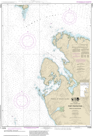 NOAA Nautical Chart 17378: Port Protection, Prince of Wales Island
