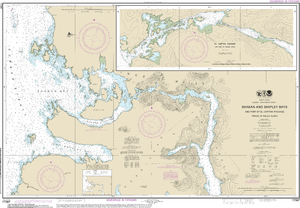NOAA Nautical Chart 17387: Shakan and Shipley Bays and Part of El Capitan Passage;El Capitan Pasage, Dry Pass to Shakan Strait