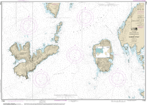 NOAA Nautical Chart 17402: Southern Entrances to Sumner Strait