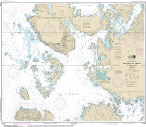 NOAA Nautical Chart 17404: San Christoval Channel to Cape Lynch