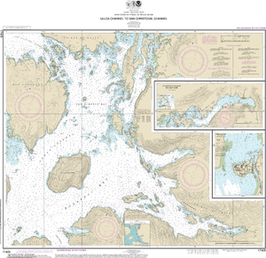 NOAA Nautical Chart 17405: Ulloa Channel to San Christoval Channel;North Entrance, Big Salt Lake;Shelter Cove, Craig