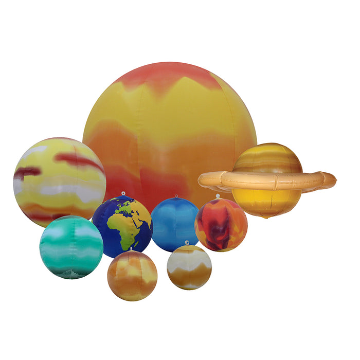 Solar System 8-28 inch Inflatable Globes by Replogle Globes