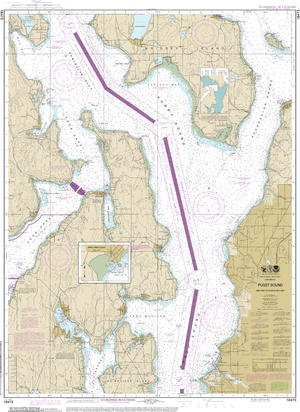 NOAA Nautical Chart 18473: Puget Sound-Oak Bay to Shilshole Bay