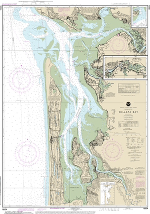 NOAA Nautical Chart 18504: Willapa Bay;Toke Pt.