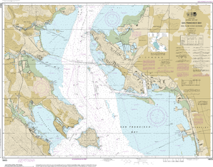 NOAA Nautical Chart 18653: San Francisco Bay-Angel Island to Point San Pedro