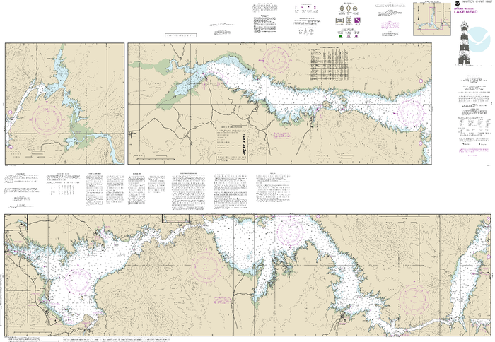 NOAA Nautical Chart 18687: Lake Mead