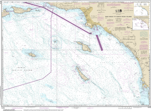 NOAA Nautical Chart 18740: San Diego to Santa Rosa Island