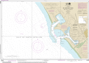 NOAA Nautical Chart 18758: Del Mar Boat Basin