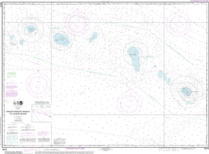 NOAA Nautical Chart 19019: French Frigate Shoals to Laysan Island