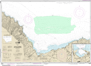 NOAA Nautical Chart 19342: Kahului Harbor and approaches;Kahului Harbor